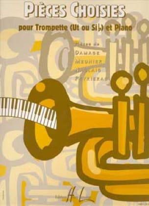 Pièces Choisies - Partition - Trompette - laflutedepan.com