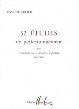 Théo Charlier - 32 Etudes de perfectionnement - Partition - di-arezzo.fr
