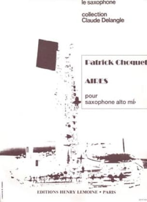 Patrick Choquet - Aires - Partition - di-arezzo.fr