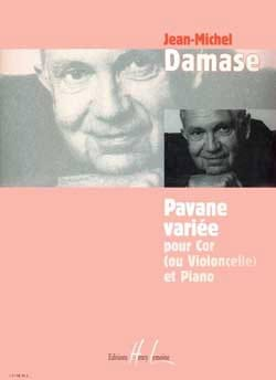 Jean-Michel Damase - Varied Pavane - Sheet Music - di-arezzo.com