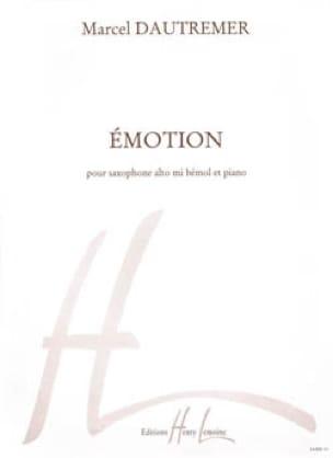 Marcel Dautremer - Emotion - Partition - di-arezzo.fr