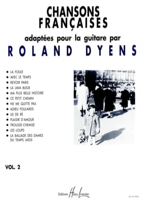 Roland Dyens - French Songs Volume 2 - Sheet Music - di-arezzo.co.uk