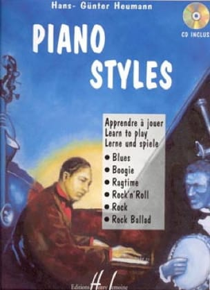 Piano Styles Hans-Günter Heumann Partition Jazz - laflutedepan