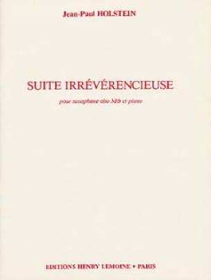 Suite Irrévérencieuse Jean-Paul Holstein Partition laflutedepan