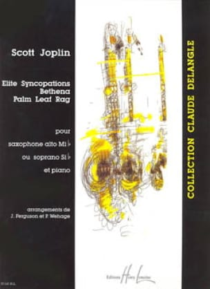 Elite syncopations, Bethena, Palm leaf rag JOSPLIN laflutedepan