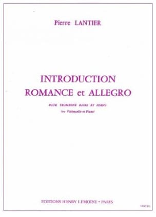 Pierre Lantier - Introduction Romance and Allegro - Sheet Music - di-arezzo.com