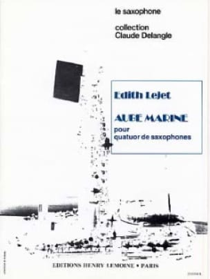 Aube Marine Edith Lejet Partition Saxophone - laflutedepan