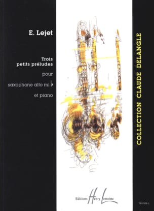 Edith Lejet - Three Little Preludes - Sheet Music - di-arezzo.co.uk