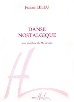 Jeanne Leleu - Danse Nostalgique - Partition - di-arezzo.fr