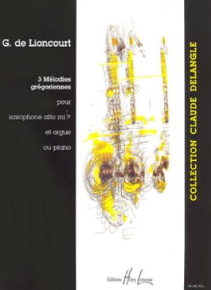 Guy De Lioncourt - Three Gregorian Melodies - Sheet Music - di-arezzo.co.uk