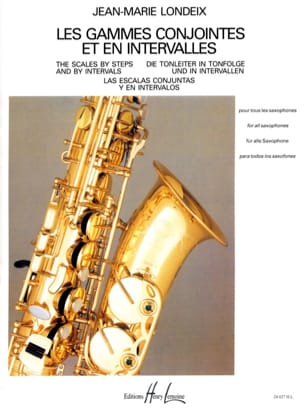 Jean-Marie Londeix - Joint Ranges and Intervals - Sheet Music - di-arezzo.com