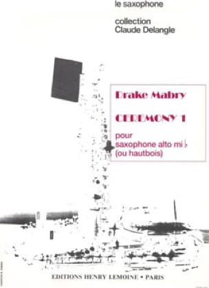Drake Mabry - Ceremony I - Sheet Music - di-arezzo.co.uk