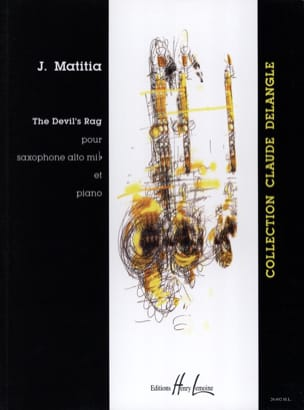 The Devil's Rag Jean Matitia Partition Saxophone - laflutedepan