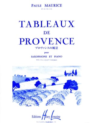 Paule Maurice - Tables of Provence - Sheet Music - di-arezzo.co.uk