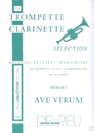 Ave Verum - MOZART - Partition - Trompette - laflutedepan.com