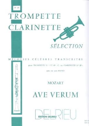Ave Verum - Wolfgang Amadeus Mozart - Partition - laflutedepan.com
