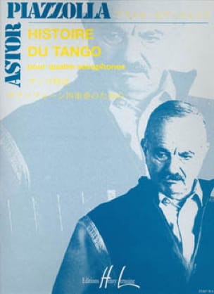 Astor Piazzolla - History of tango - Partition - di-arezzo.co.uk
