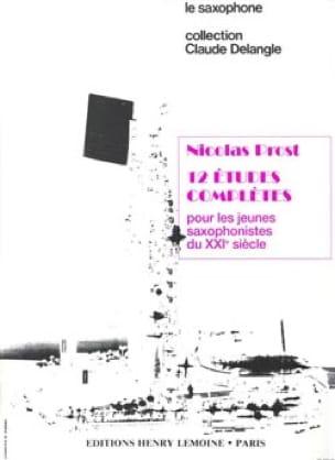 Nicolas Prost - 12 estudios completos - Partitura - di-arezzo.es