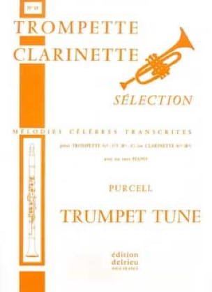 Trumpet Tune N° 15 PURCELL Partition Trompette - laflutedepan