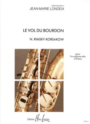 Le Vol du Bourdon RIMSKY-KORSAKOV Partition Saxophone - laflutedepan