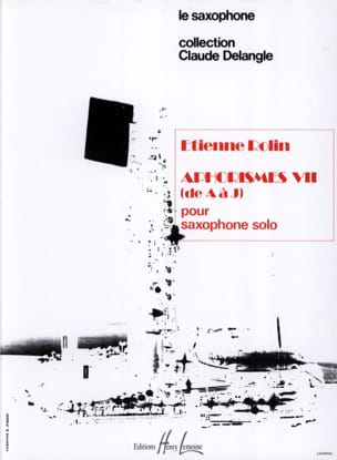 Etienne Rolin - Aphorisms VII AJ Volume 1 - Sheet Music - di-arezzo.com