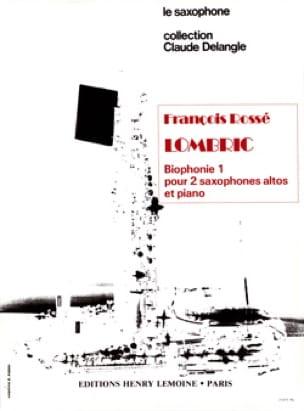 François Rossé - Lombric - Biophonie 1 - Partition - di-arezzo.fr