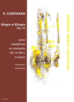 SCHUMANN - Adagio - Allegro Opus 70 - Sheet Music - di-arezzo.co.uk