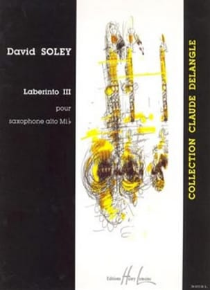Laberinto 3 David Soley Partition Saxophone - laflutedepan