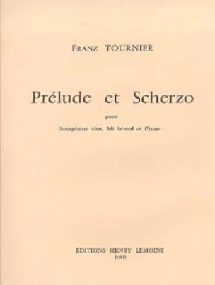 Prélude et Scherzo Franz Tournier Partition Saxophone - laflutedepan