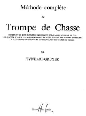 Tyndare-Gruyer - Método de trompe de caza - Partitura - di-arezzo.es