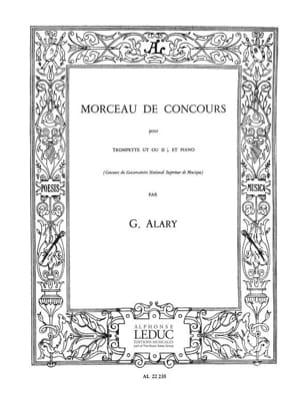 G. Alary - Morceau de Concours - Partition - di-arezzo.fr
