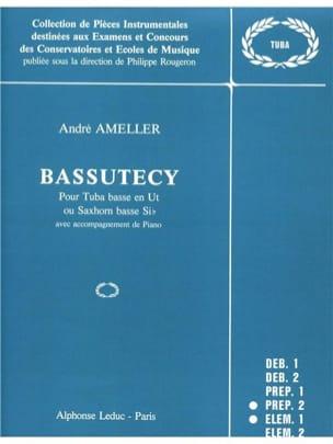 André Ameller - Bassutecy - Partition - di-arezzo.fr