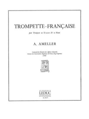 Trompette-Française - André Ameller - Partition - laflutedepan.com