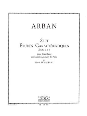 7 Etudes Caracteristiques - Jean-Baptiste Arban - laflutedepan.com