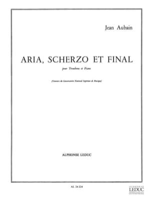 Jean Aubain - Aria Scherzo And Final - Sheet Music - di-arezzo.com