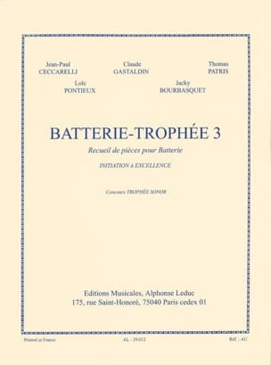Battery-Trophy 3 - Sheet Music - di-arezzo.com