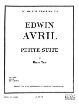 Edwin Avril - Small suite - Sheet Music - di-arezzo.com