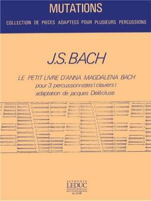 BACH - The Little Book of Anna Magdalena Bach - Sheet Music - di-arezzo.co.uk