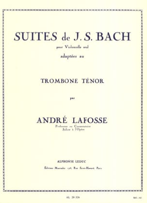 BACH - Suites - Sheet Music - di-arezzo.co.uk