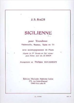 BACH - Sicilienne - Partition - di-arezzo.fr