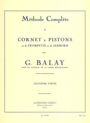 Guillaume Balay - Complete Method Volume 2 - Partitura - di-arezzo.es