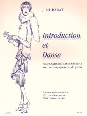 Joseph Eduard Barat - Introduction Et Danse - Partition - di-arezzo.fr