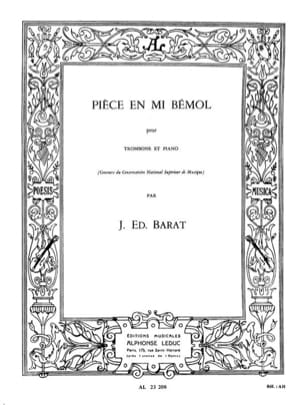 Joseph Eduard Barat - Eb Room - Sheet Music - di-arezzo.co.uk