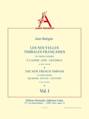 Jean Batigne - Noticias French Timbales Volume 1 - Partitura - di-arezzo.es