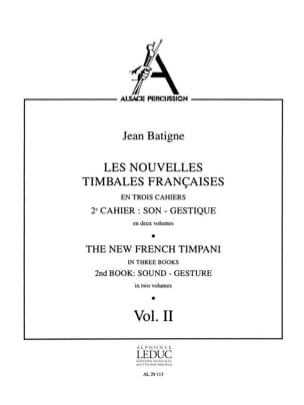 Jean Batigne - Noticias French Timbales Volume 2 - Partitura - di-arezzo.es