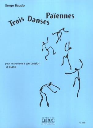 Serge Baudo - 3 Pagan Dances - Sheet Music - di-arezzo.com