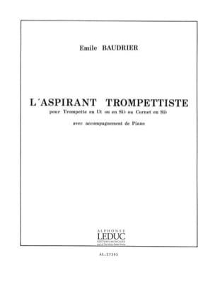 L'aspirant Trompettiste Emile Baudrier Partition laflutedepan