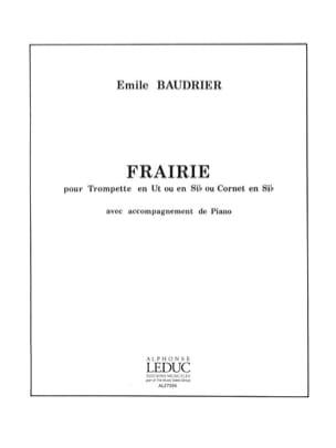 Frairie Emile Baudrier Partition Trompette - laflutedepan