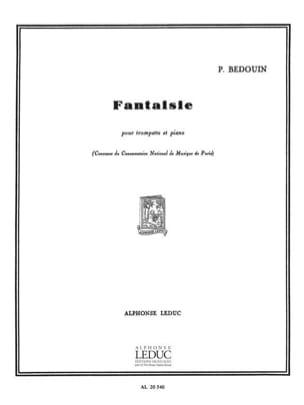 Fantaisie - P. Bedouin - Partition - Trompette - laflutedepan.com