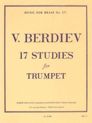 17 Studies Berdiev Partition Trompette - laflutedepan